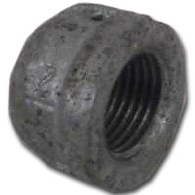 "1"" Black Pipe Threaded Cap"