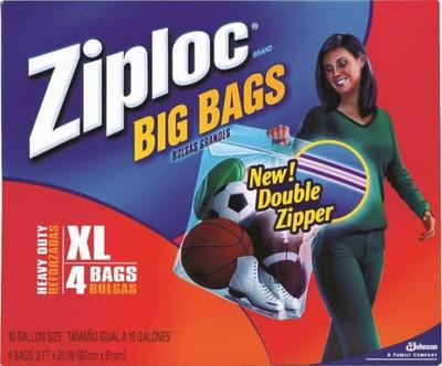 "Ziploc Extra-Large HD Big Bag, 24"" x 20"""