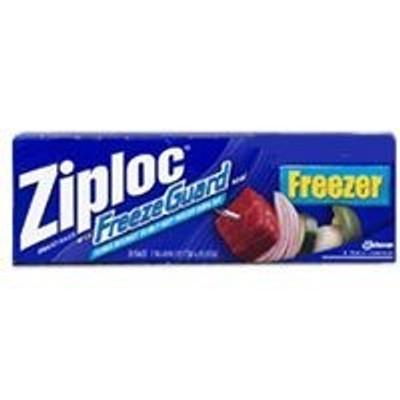 Ziploc Double Zipper Bag 2 Gal 10 Pack