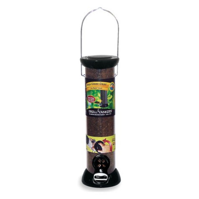 Droll Yankee Model CC12N, Onyx Clean Nyjer Bird Feeder Tube, 12""