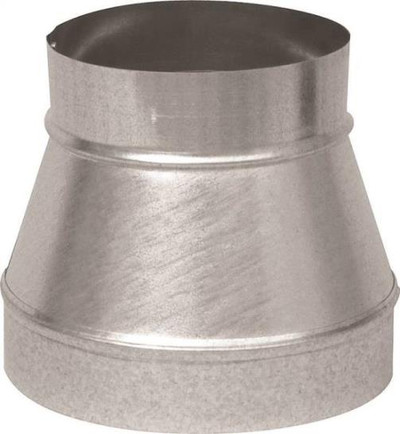 "Stove Pipe Galv Reducer 4"" X 3"""