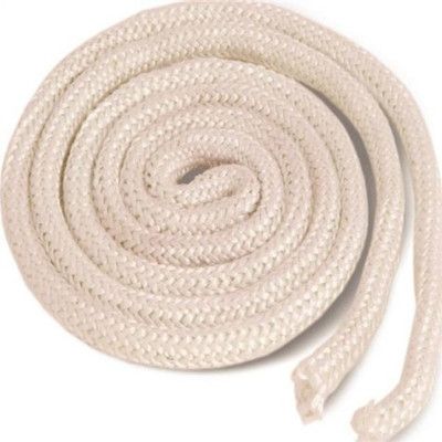 Wood Stove Gasket Rope, 1/2 in Dia x 6 ft L
