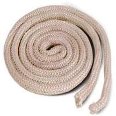 "Wood Stove Braided Gasket Rope, 1/4"" Dia x 6'"