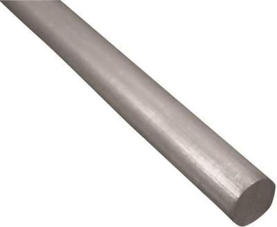 "Aluminum Rod, 1/4"" x 36"", Mill Finish"