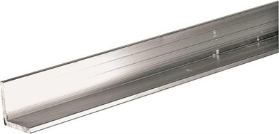 "Aluminum Angle, 2"" x 1/8"" x 36"", Mill Finish"