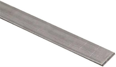 "Steel Flat Bar, 3/4"" x 48"" x 1/8"", Galvanized"