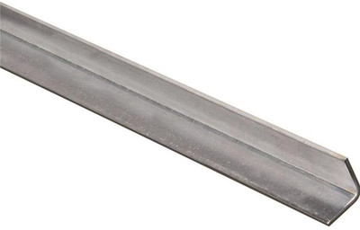 "Steel Angle Bar, 1"" x 36"" x 11 Ga, Mill Finish"