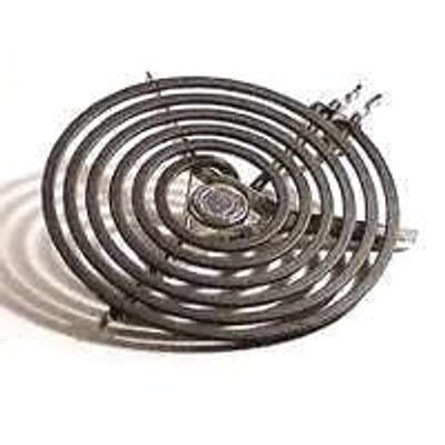 "Electric Range Top Burner, 8"" , 5 Turns, 2100 Watt"