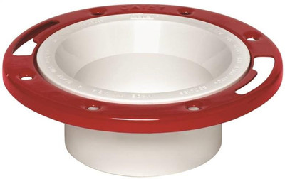 "Closet Flange 3"" -  4"" PVC With Steel Flange"