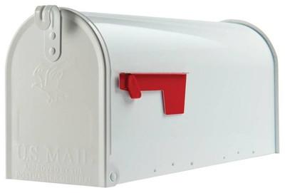 Rural Mailbox, White