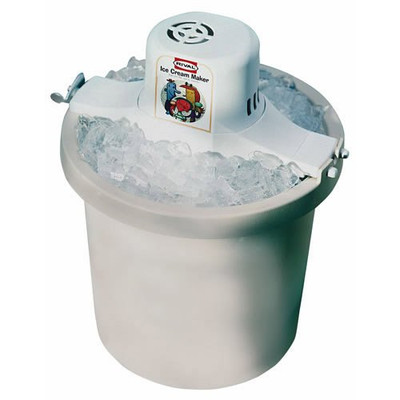Electric Ice Cream Maker, 4 Quart