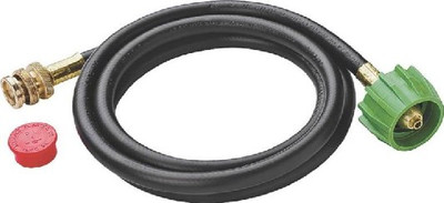 Gas Adapter Hose, 6', Disposable Tank - POL