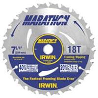"Circular Saw Blade, 7-1/4"", 18 Teeth"
