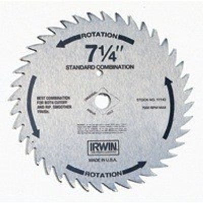 "Circular Saw Blade, 7-1/4"",  40 Teeth"