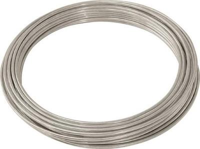 Wire,   9 Ga, Solid, Galvanized,  50'