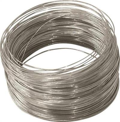 Wire, 28 Ga, Solid Galvanized, 100'