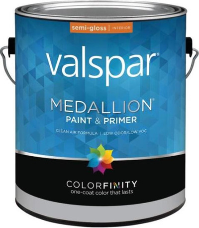 Medallion, 2400, Gallon, Semi-Gloss, White, Interior