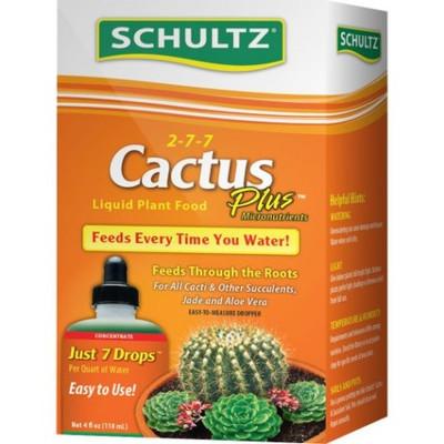 Cactus Liquid Plant Food, 4 Oz, 2-7-7