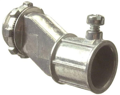 "EMT,  3/4"" Conduit Connector, Offset"