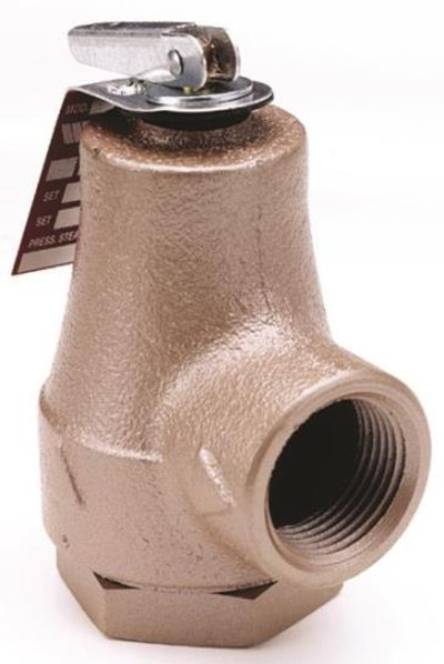 "Hot Water Boiler Relief Valve  30 PSI 3/4"" FPT"