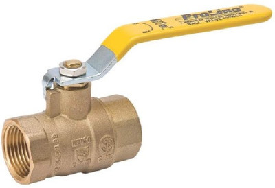 "Ball Valve, 3/4"" FPT, Full Port"