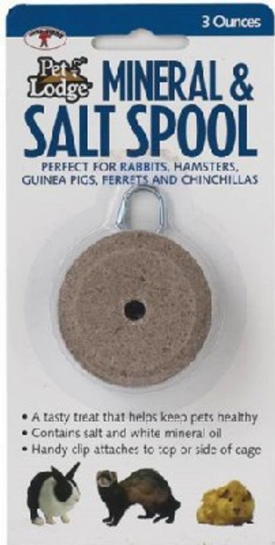 Pet Lodge Salt Spool Hanger, 3 Oz