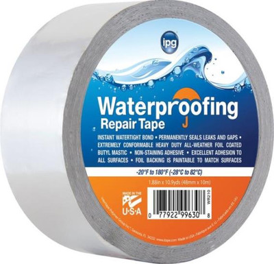 "Waterproofing Repair Tape, 1.88"" x 10.9 Yds"