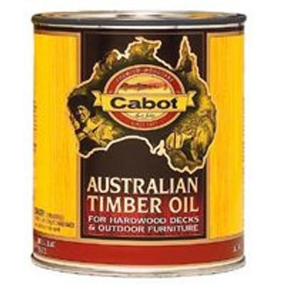 Cabot, Australian Timber Oil, Honey Teak, Quart