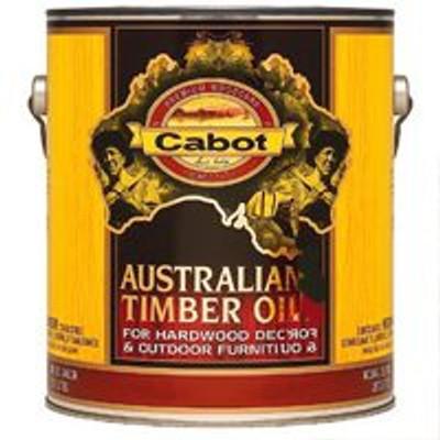 Cabot, Australian Timber Oil, Honey Teak, Gallon