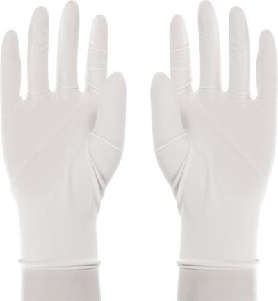Lightly Powdered Latex Gloves, Small, 5 Mil, 100 Pack