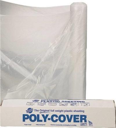 Plastic Sheeting, 6 mil, 8' x 100[', Clear