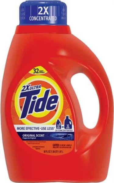 Tide 2 X Ultra Liquid - 50 Oz