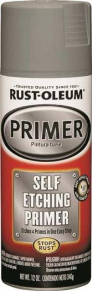 Rust-Oleum, Self-Etching Spray Primer, 12 Oz