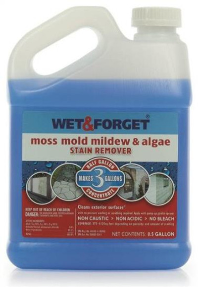 Wet & Forget, Outdoor, Concentrate,  1/2 Gallon