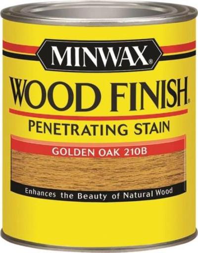 Minwax, Golden Oak, Wood Stain, Quart