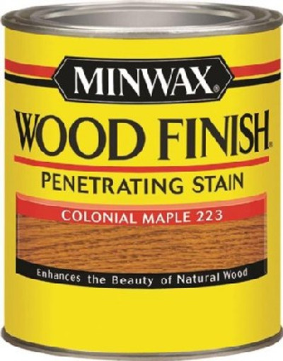 Minwax, Colonial Maple, Wood Stain, Quart
