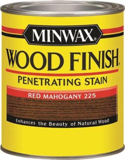 Minwax, Red Mahogany, Wood Stain, Quart