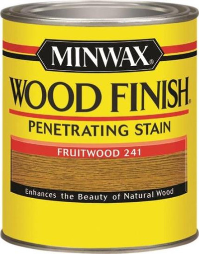 Minwax, Fruitwood, Wood Stain, Quart