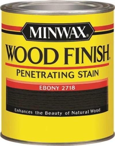 Minwax, Ebony, Wood Stain, Quart