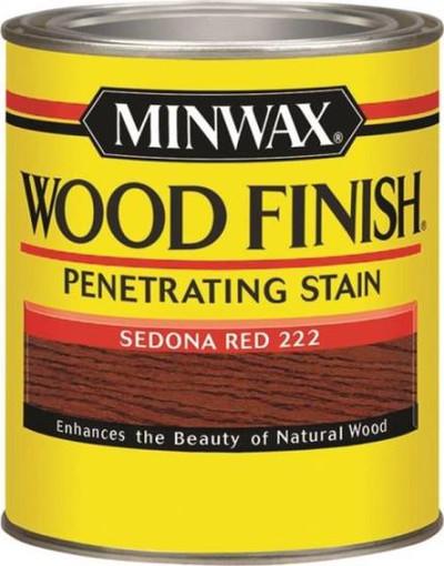 Minwax, Sedona Red, Wood Stain, Quart