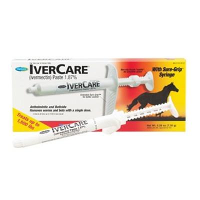IverCare Ivermectin Paste, 1.87 %, .26 Oz