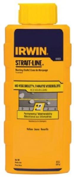 Marking Chalk, Yellow, 8 Oz