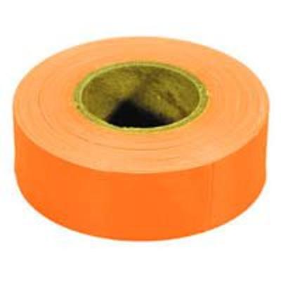 Flagging Tape, Glo-Orange, 150 Ft