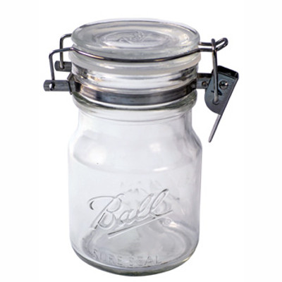 Ball, Canning Jar, Wire Bale Jar, 38 Oz