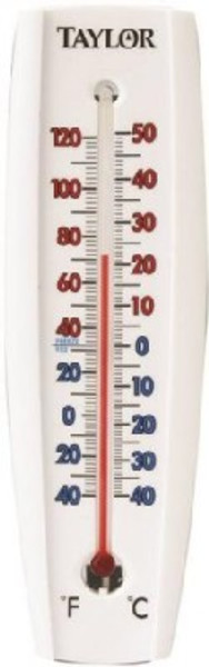 Thermometer, Indoor Or Outdoor, Wall Mount
