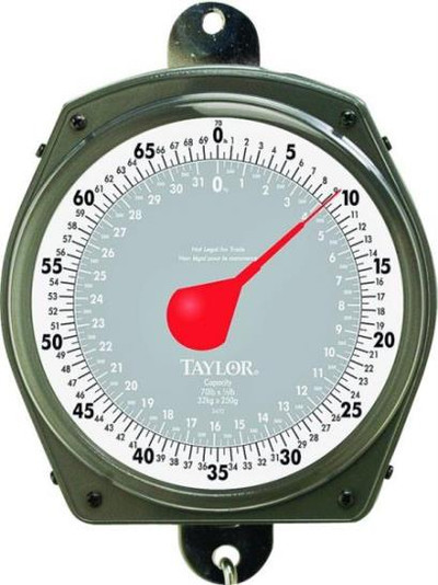 Hanging Dial Scale, 0 - 70 Lb