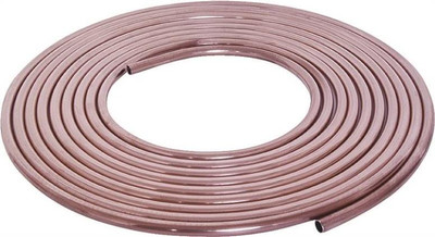 """3/8"""" X 10' Copper Tubing Coil"""