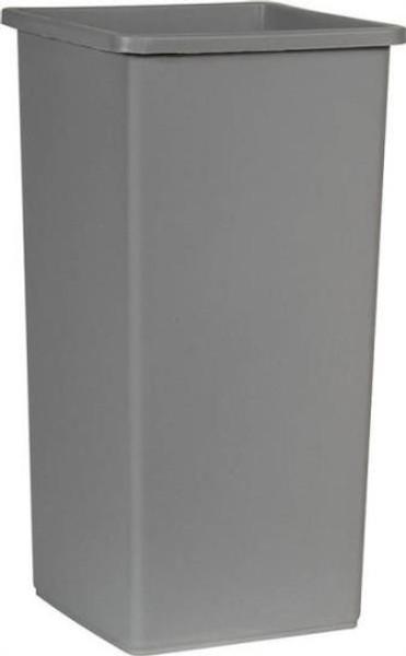 Trash Can, 23 Gallon, Commercial, Gray