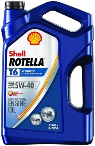 Motor Oil, Rotella, SAE 5W40, Gallon