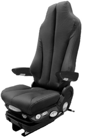 GraMag BLACK SYN LEATHER SELECT SEAT
